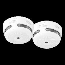 Kit de 2 Mini detectores de fumo autónomo X-Sense 2XXS01
