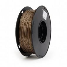 Filamento para Impressora 3D PLA 1.75mm 1Kg Latão com metal na composição