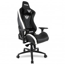 Cadeira Gaming 4Gaming Karyn + 2K19  Preto Branco