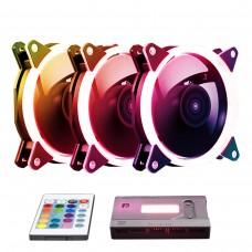 Ventoinha Caixa Candy RGB Kit com 3Pcs