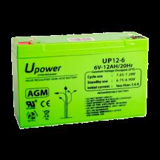 Upower BATT-6012-U