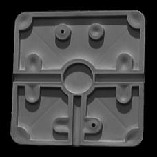 Tampa de ligação flexível para caixa de suporte CBOX-BC02-BASEFLEX