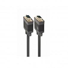CABO VGA PREMIUM HD15M/HD15M - 5MT - BLACK