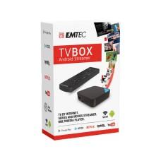 Smart Tv Box Android Emtec 4Core 1Gb + 16Gb Com Comando