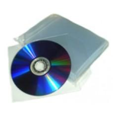 CD/DVD SLEEVE PLASTICO 100PCS/BAG