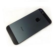 BACK CASE PARA IPHONE 5S PRETA