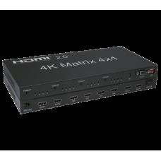 Multiplicador de sinal HDMI HDMI-MATRIX-4X4-4K