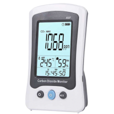 Medidor de CO2, temperatura e humidade MT-CO2-A37