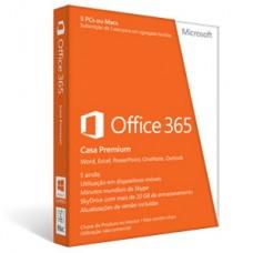 MICROSOFT OFFICE 365 HOME PREMIUM 5PCS 1 ANO