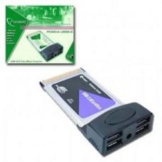 PLACA PCMCIA COM 4 PORTAS USB 2,0