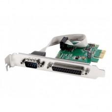 Placa Pci-Express com Porta COM e LPT e com Low Profile