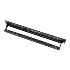 Painel patch cego de 24 portas UTP/RJ45 PP-24BLANK