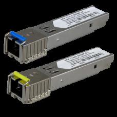 Par de módulos transceptores SFP SFP-TR1513-20SMF-SC