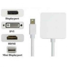 MINI DISPLAY CABLE PORT DP TO HDMI - F/ DVI/ MULTIPLE  FOR APPLE