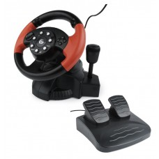 Volante Multi-Interface com Vibração PC/PS2/PS3