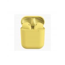 Earpods com Microfone I11 Bluetooth 5.0 Amarelo