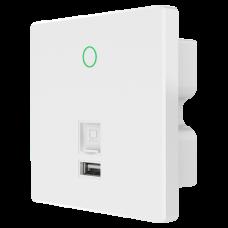 Ponto de acesso Wifi 5 WIFI5-AP750-INWALL-AC