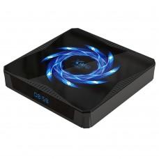 Smart Tv Box Android 10 4Core 4K 4Gb 32Gb Com Comando