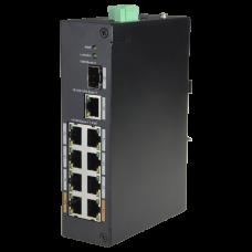Switch PoE X-Security XS-SW1008POE-96-DIN