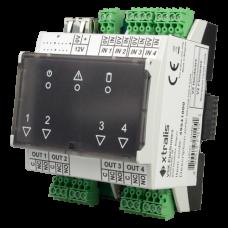 XTRALIS-Módulo de extensão Ethernet Poe I/O slave XTL-49841010
